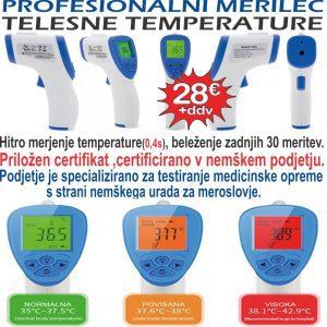 merilec temperature