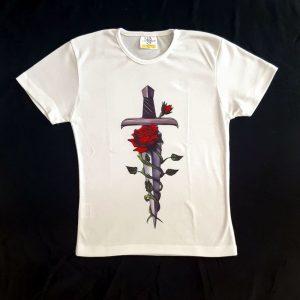 Ženska majica kratki rokav S sword