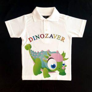 Otroška majica polo kratki rokav Dino