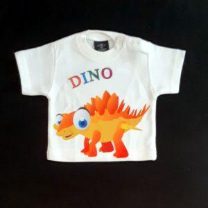 Otroška majica kratki rokav 68 dinozaver